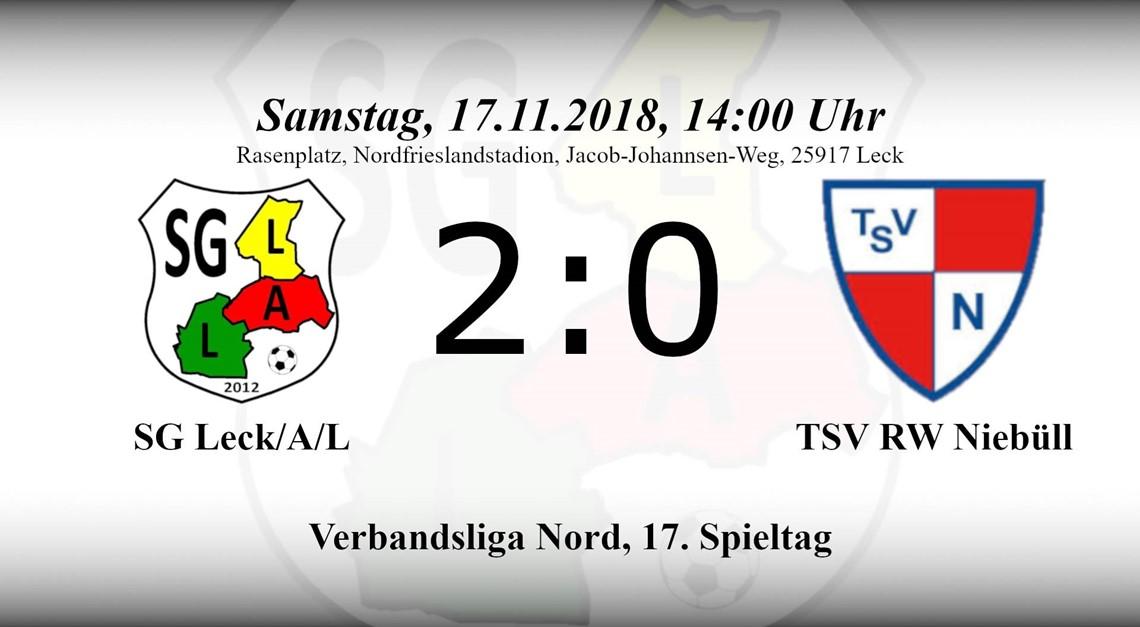 Wiedergutmachung im Derby – 2:0 Sieg gegen Niebüll
