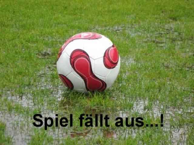 Spiel in Almstedt fällt aus