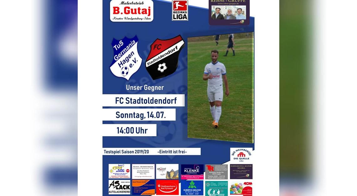 Test gegen Bezirksligist FC Stadtoldendorf
