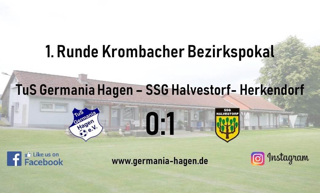Pokalfight gegen Halvestorf endet mit 0:1