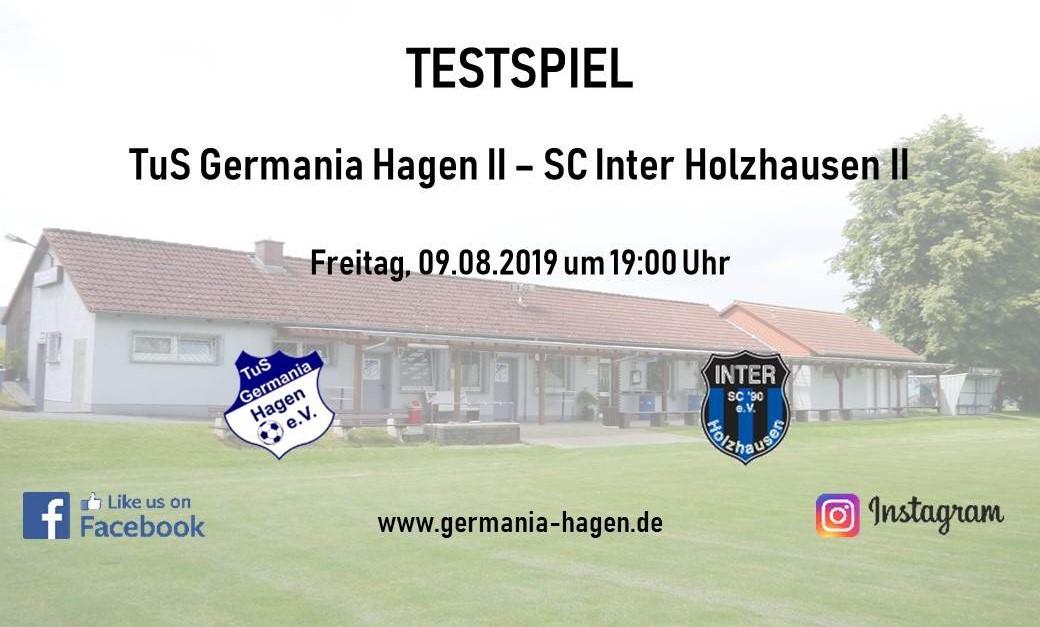 Testspiel gegen Inter Holzhausen II