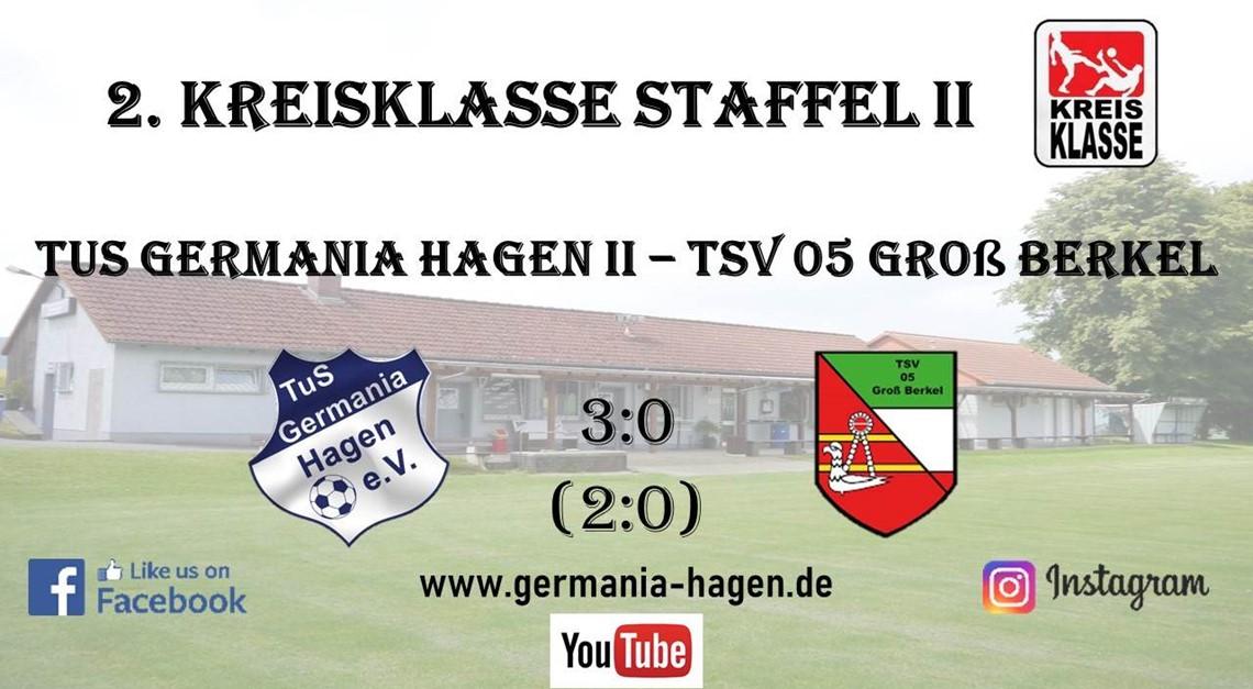 Heimsieg gegen den TSV 05 Groß Berkel