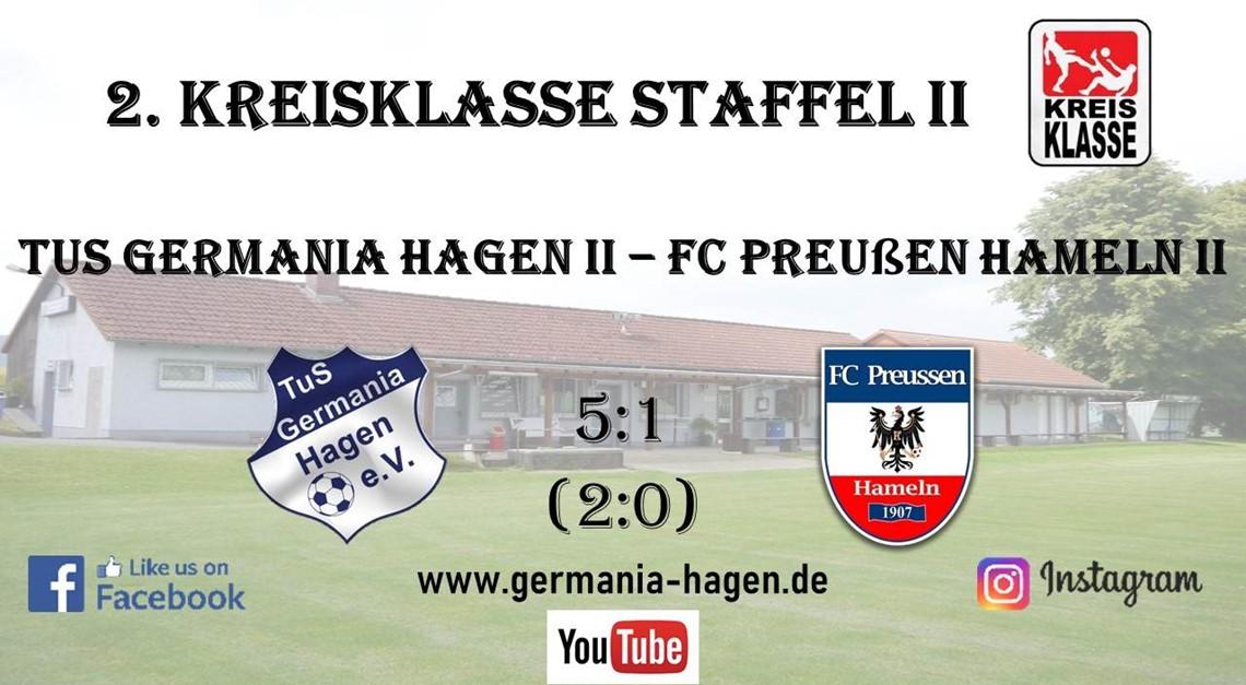 5:1-Heimerfolg gegen Hamelns Preußen