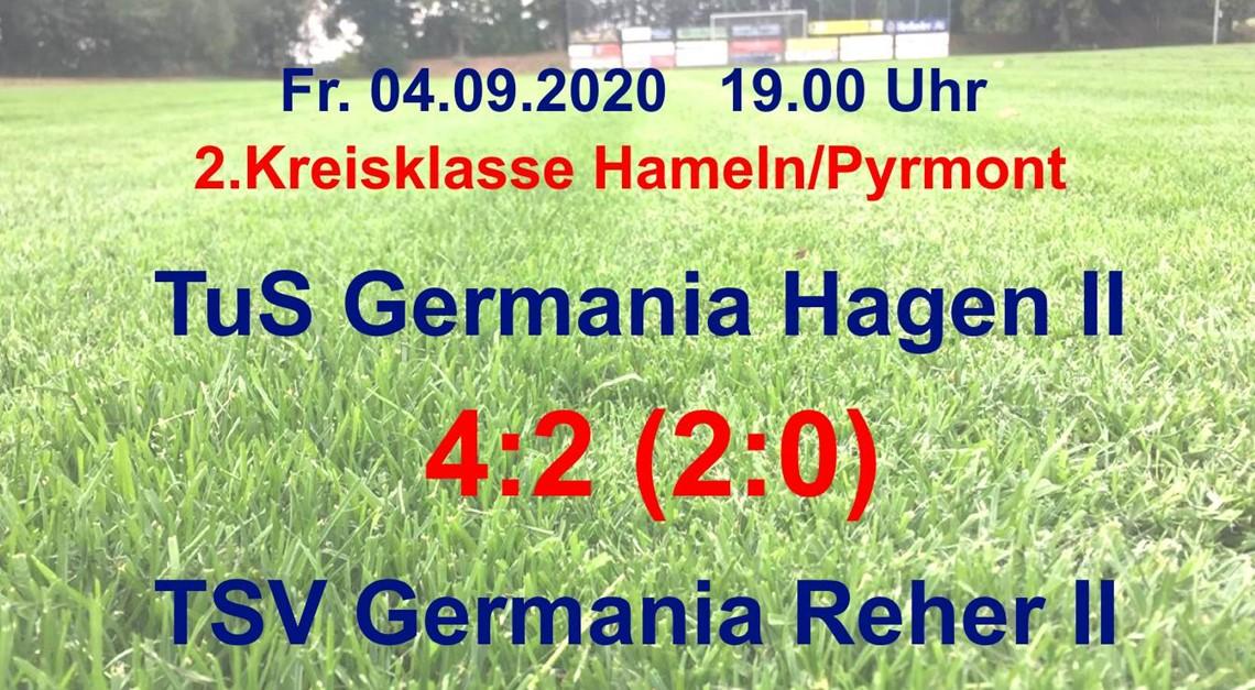 Auftaktsieg für Germania Hagen II