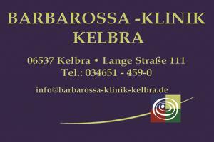 Sponsor - Barbarossa Klinik Kelbra