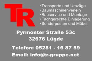 Sponsor - TR Gruppe