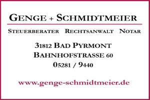 Sponsor - Genge & Schmidtmeier