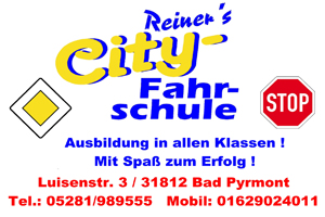 Sponsor - Reiner`s City Fahrschule