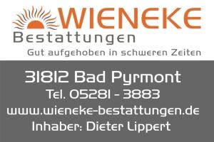 Sponsor - Wieneke Bestattungen
