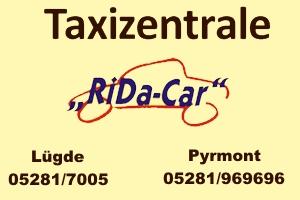 Sponsor - Taxi Ridacar