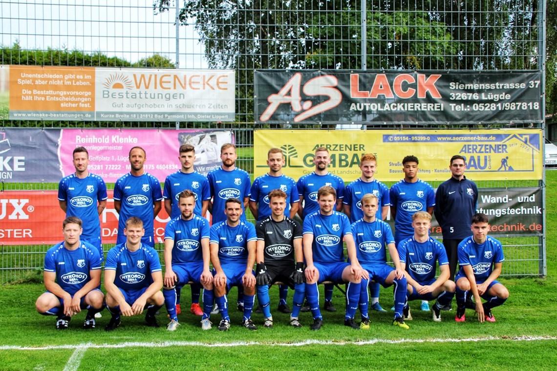 Mannschaftsfoto Germania Hagen 2