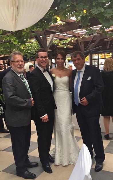 Glückwünsche an das Brautpaar