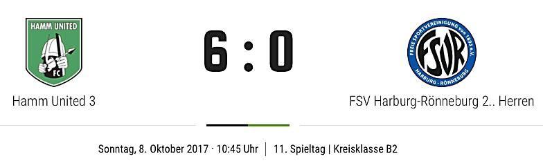 Verdienter Sieg gegen FSV Harburg-Rönneburg 2