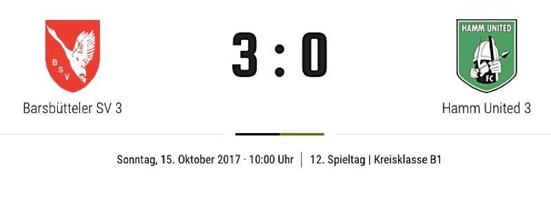 Schwache Dritte verliert in Barsbüttel