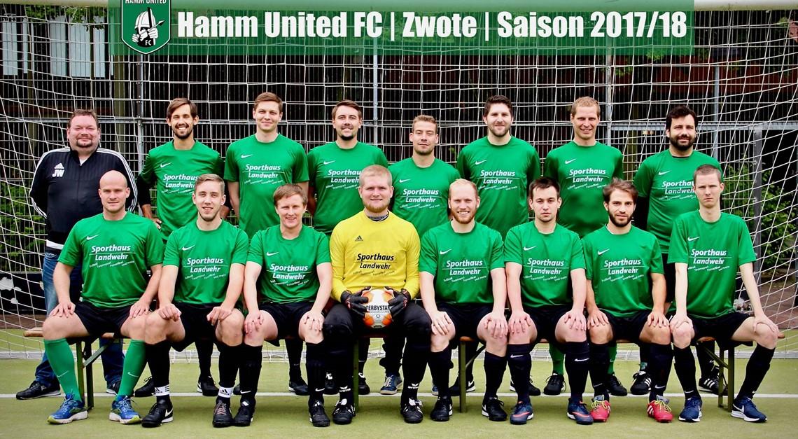 Hamm United II zum Auftakt gegen Sporting Clube