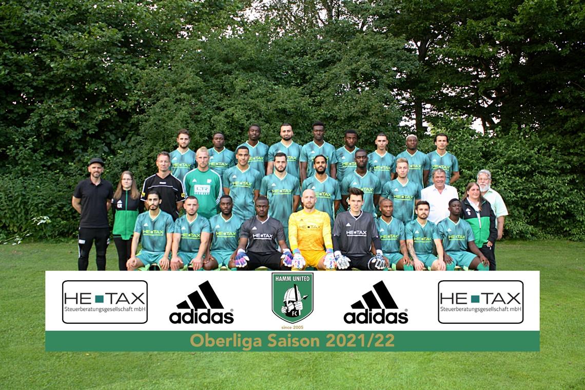 Mannschaftsfoto Hamm United FC