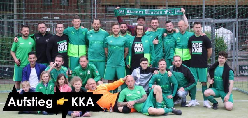 Mannschaftsfoto Hamm United FC 3