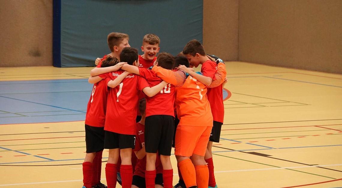 U12 spielt U13-Wintercup des JFC Nord