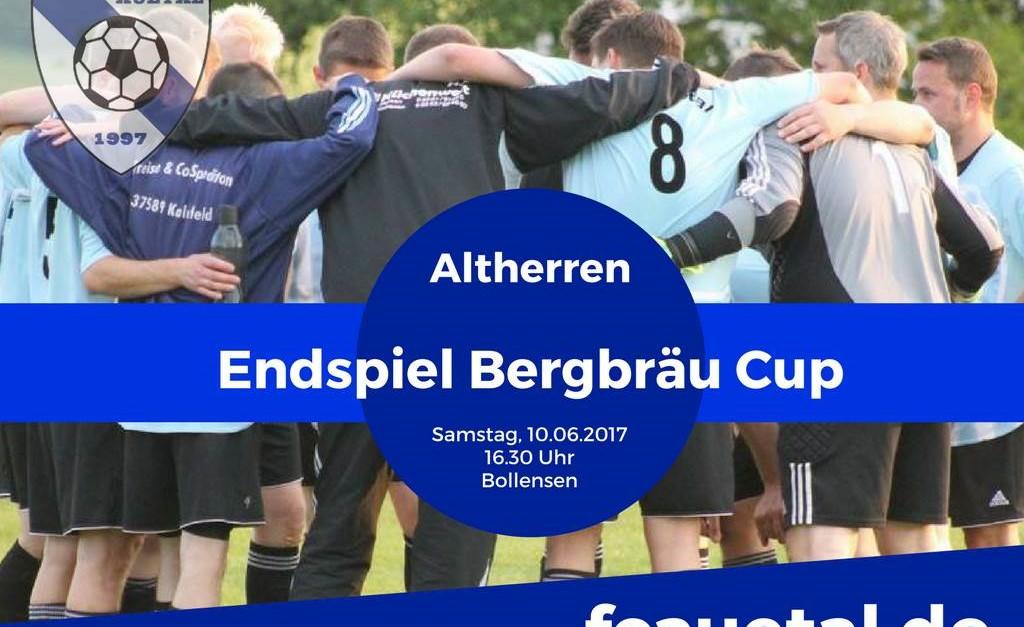 Busfahrt zum Endspiel des Altherren-Bergbräu-Cup