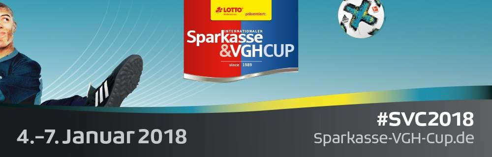 Kader-Präsentation für Sparkasse & VGH Cup 2018