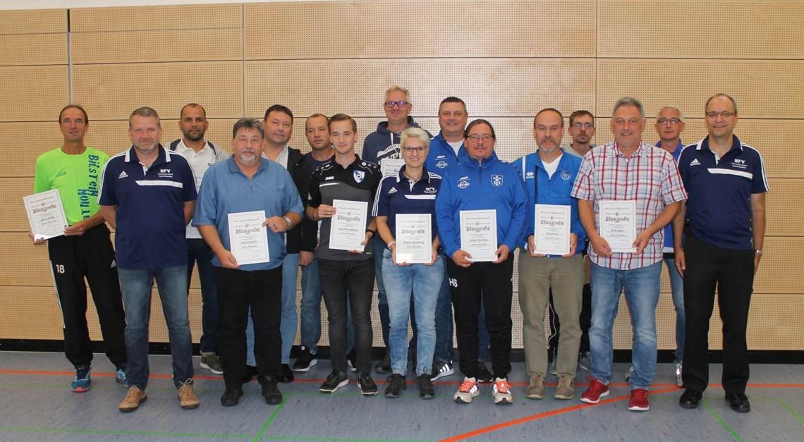 Auszeichnungen für Jugendtrainer und Betreuer