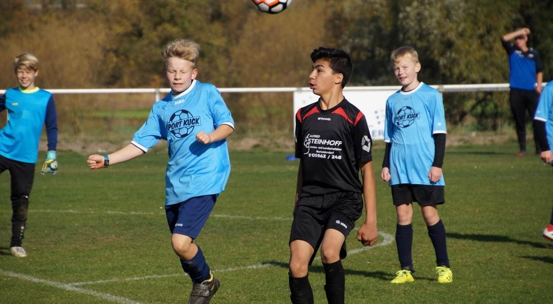 D-Jugend: 2:0 Sieg für Platz 3
