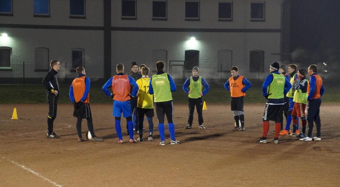 Trainingsauftakt der Herrenmannschaften