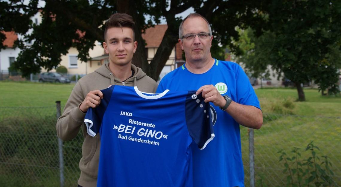 Torhüter Pascal Müller kommt aus der U19