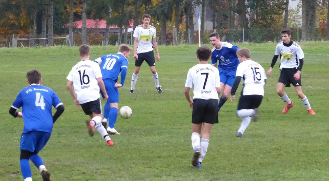 5:0 - U19 mit Kantersieg über FC Gleichen