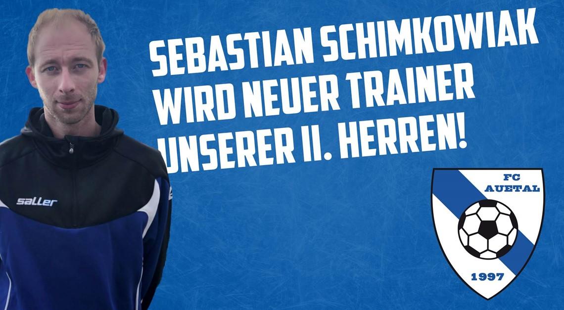 Sebastian Schimkowiak wird neuer Trainer der  II.
