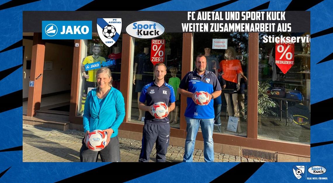 FC Auetal und Sport Kuck weiten Zusammenarbeit aus