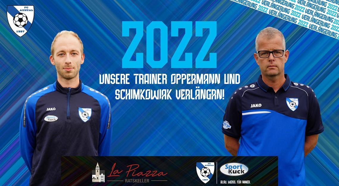 Trainerteam verlängert bis 2022