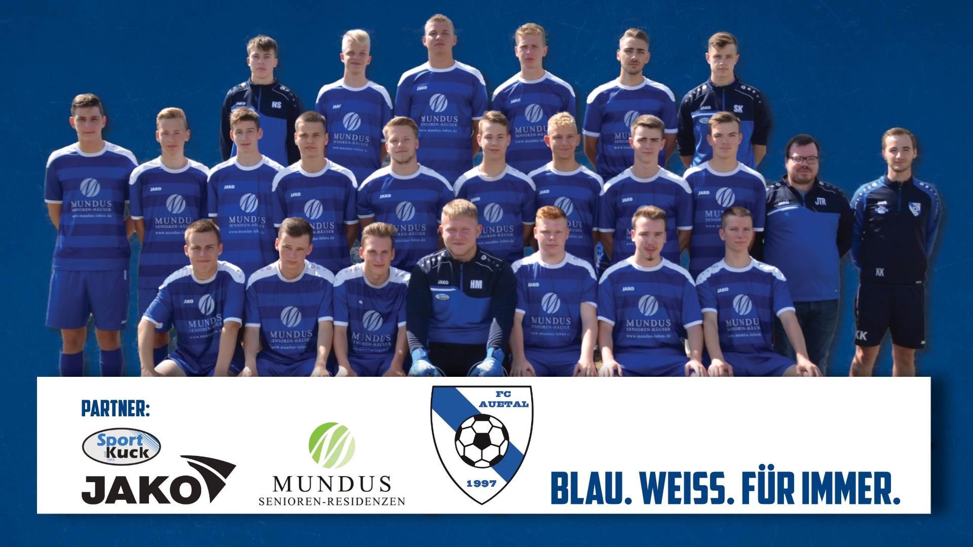 Mannschaftsfoto FC Auetal