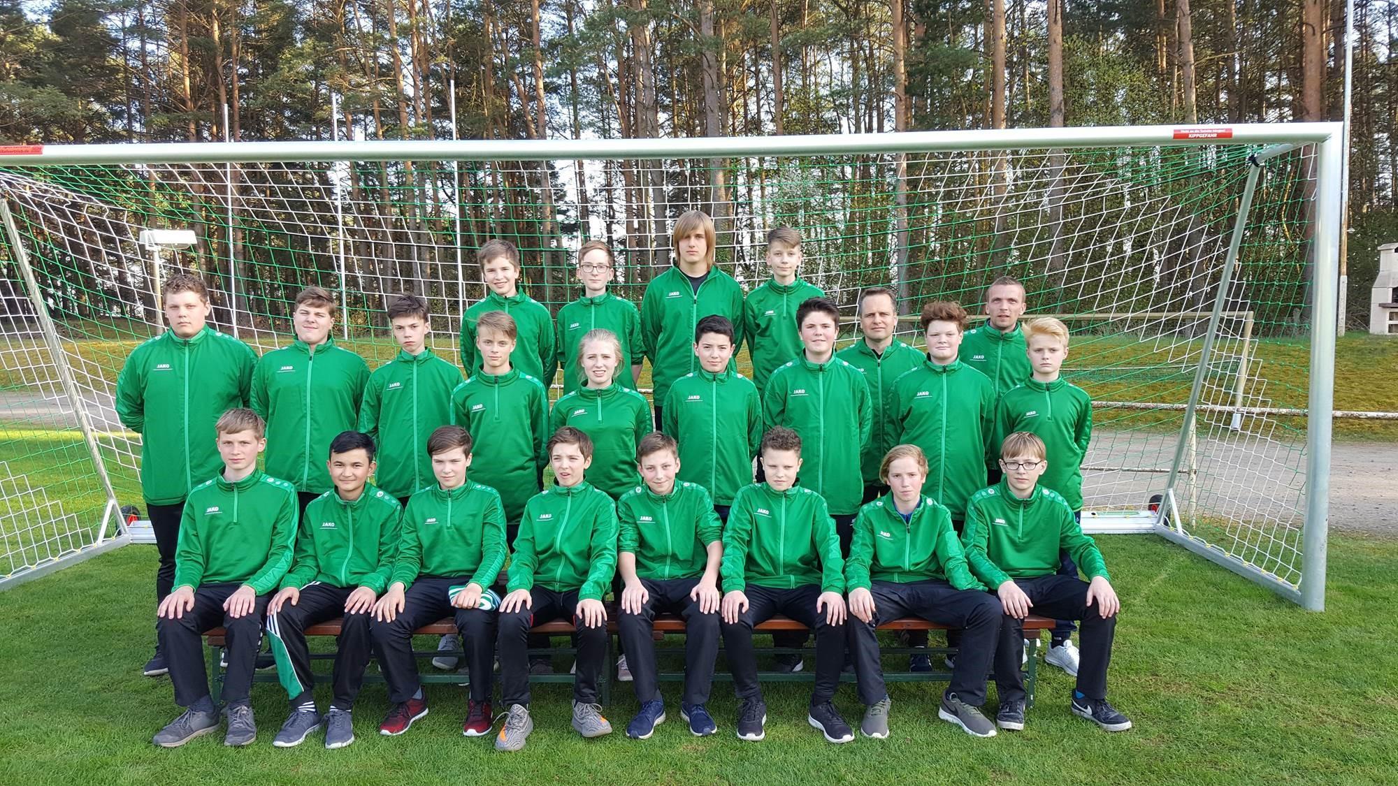 Mannschaftsfoto SV Biesenthal 90