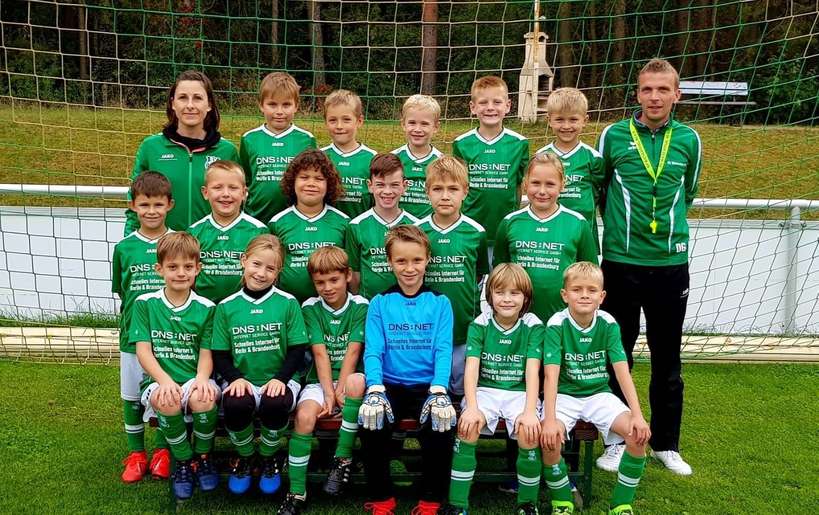 Mannschaftsfoto SV Biesenthal 90 2