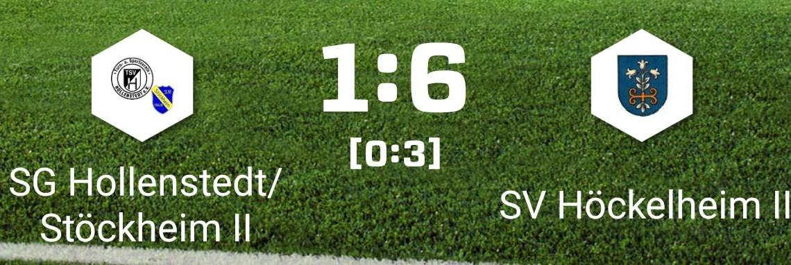 Niederlage gegen SV Höckelheim II
