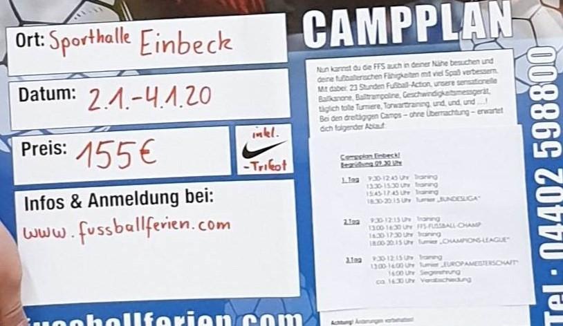 3 Tage Fußballspaß