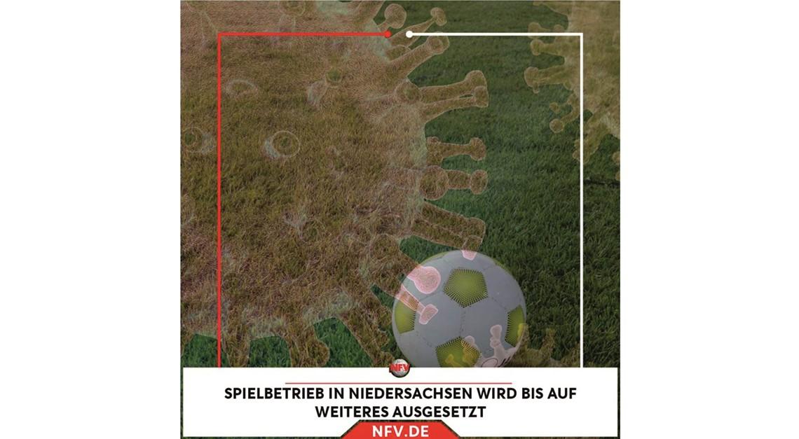Fußball ruht bis auf weiteres in Niedersachsen