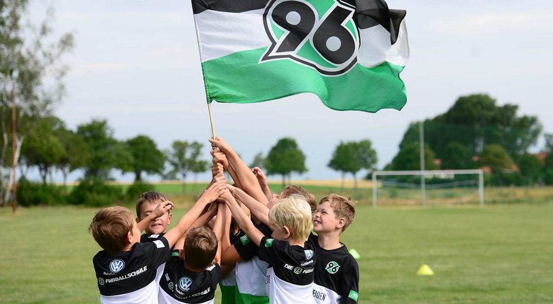 Die 96-Fußballschule kommt!