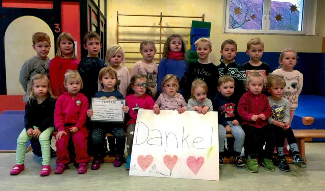 1.000 Euro für den Kindergarten Lagershausen