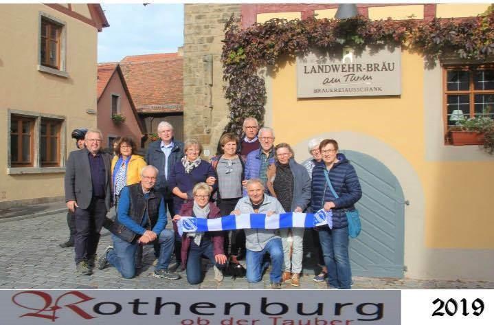 Kegelfahrt nach Rothenburg ob der Tauber