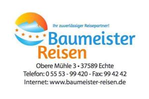 Sponsor - Baumeister Reisen