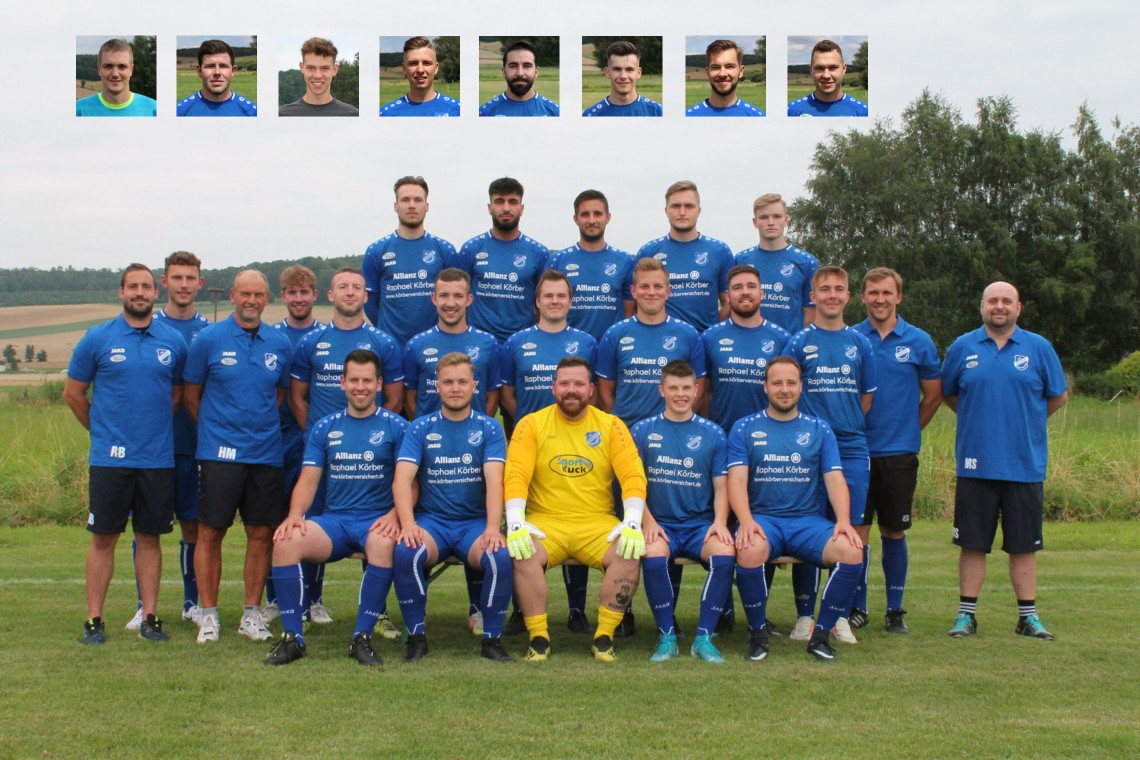 Mannschaftsfoto SG Denkershausen/Lagersh.