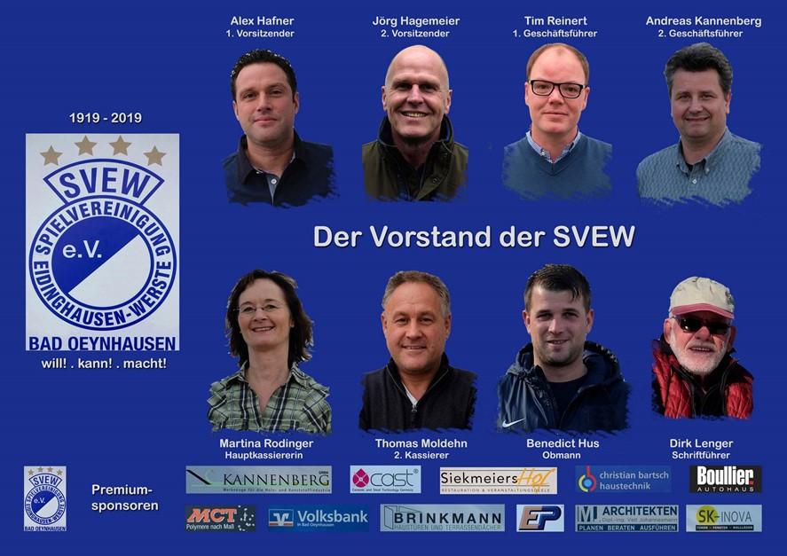 Vorstand der SVEW wurde gewählt