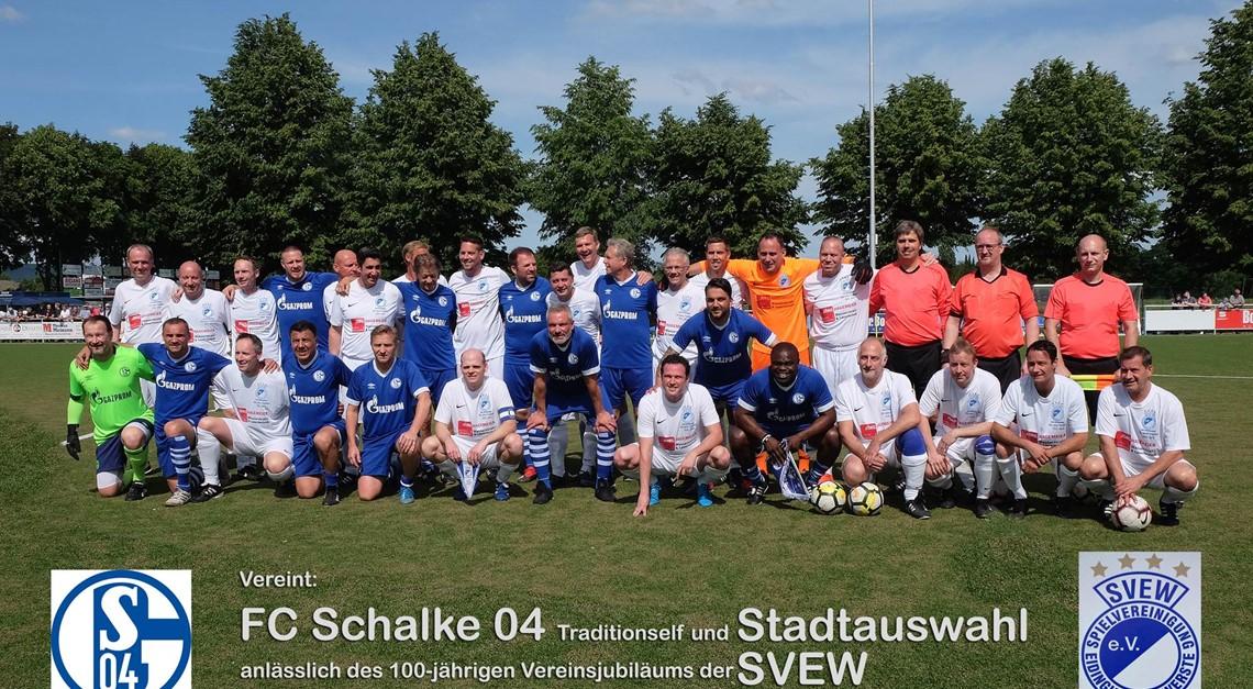 Schalke 04 war in Werste