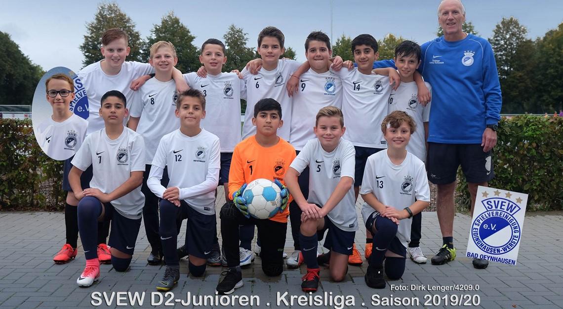 SVEW D2-Junioren 2019