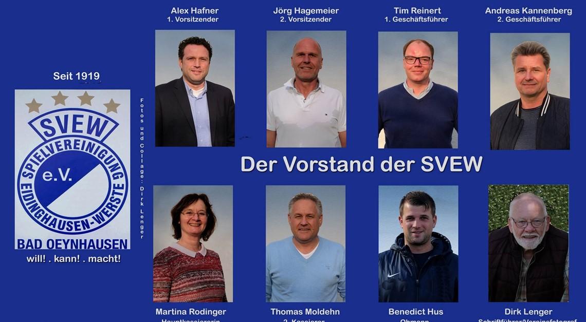 Der Vorstand der SVEW
