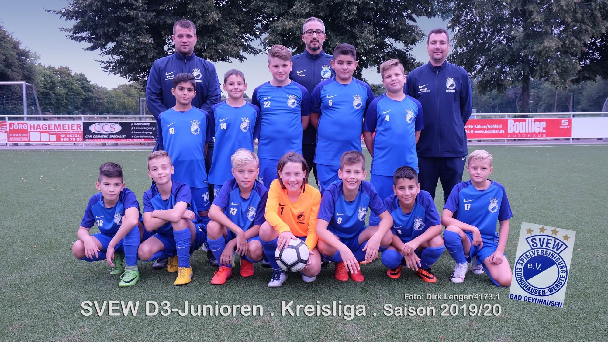 Mannschaftsfoto SVEW Bad Oeynhausen 10