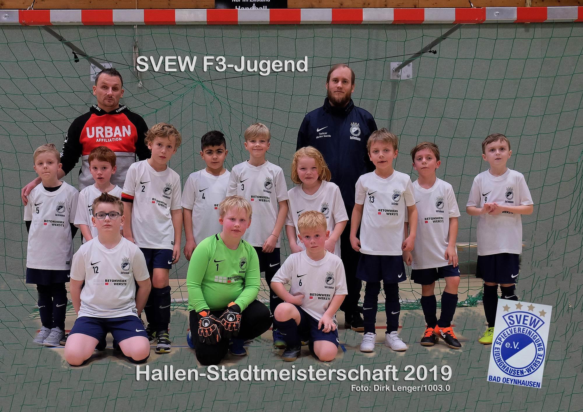 Mannschaftsfoto SVEW Bad Oeynhausen 11