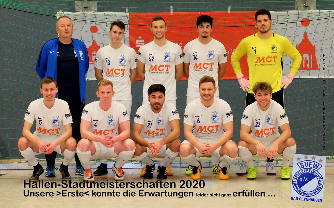 Mannschaftsfoto SVEW Bad Oeynhausen 17